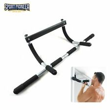 Workout Bar Adjustable Chin-Up Pull-Up Horizontal Bar Doorway Trainer for Home