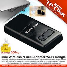 TP-LINK  Mini Wireless N USB Adapter Wi-Fi Dongle 300Mbps TL-WN823N High Speed