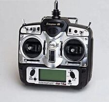 Radiocomando Graupner MX-16s 8ch. 35MHz SYNTESIZED per Aereo Elicottero  4701.68