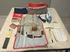 Vintage Olin Skis Maintenance Kit With Carrying Bag, Dry Iron and Supplies