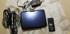SONY DVP-FX820 PORTABLE DVD PLAYER Used Once Mint