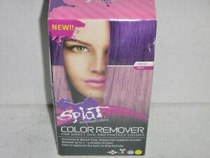 Splat Color Remover For Direct Dye and Fantasy Colors