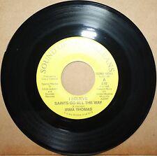 IRMA THOMAS I Believe (Saints Go) *MARDI GRAS MAMBO* N.O. 45 SOUND OF N.O. 10311