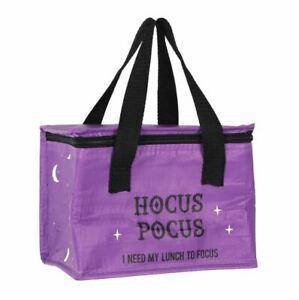 Hocus Pocus Insulate Lunch Bag Box School Food - UK Seller