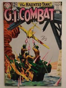 DC G.I. COMBAT #93 (1962) The Tank of Doom, Haunted Tank, Arch Asher, Bob Haney