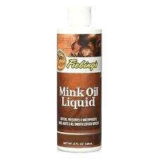 Fiebing's Mink Oil Liquid Leather Conditioner 8 Oz