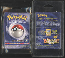 Pokemon Starter Base Set Theme Deck MACHAMP HOLO ITALIAN NEW 1999-2000