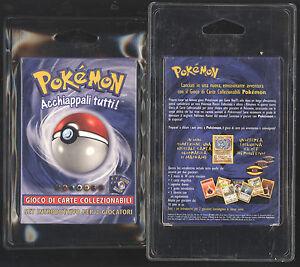Pokemon Starter Base Set Theme Deck MACHAMP HOLO ITALIAN NEW 1999-2000