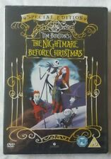 Tim Burtons The Nightmare Before Christmas Special Edition DVD New & Sealed