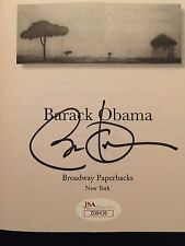 Barack Obama Dreams From My Father Autographed Signed Book JSA COA President
