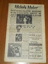 MELODY MAKER 1952 #1001 NOV 22 JAZZ SWING PEARL BAILEY LOUIE BELSON GERALDO
