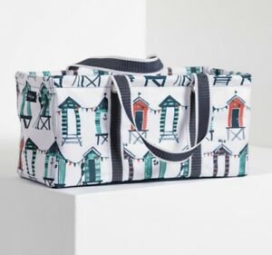 *NEW* Thirty One TINY UTILITY TOTE bag in Seaside Suites Beach Theme