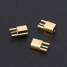 5x 3p MMCX Type Female Jack Edge PCB Mount straight RF Coaxial Adapter connector
