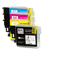 28 PK (BK C M Y) Ink Set Replacement for LC61 Brother MFC 290C 295CN 490CW J410w