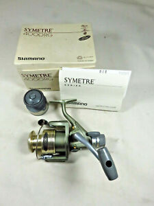 NEW IN THE BOX ~ RARE ~ SHIMANO SYMETRE 4000 RG Reel ~ made in Japan