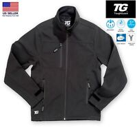Men's Water Resistant Windproof Breathable Outdoor Fleece Lined Softshell Jacket
