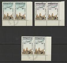 République Populaire du Kampuchea  6 timbres oblitérés Poste Aérienne /T2963
