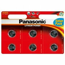 Panasonic CR2032 Lithium Coin Cell 2032 3V Battery