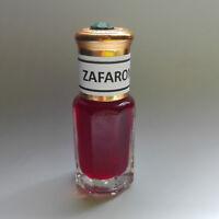 Pure Perfume Saffron Zaffron Zafran Oil 5ml Strong Aroma