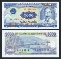 VIETNAM 5,000 Dong, 1991, P-108a, UNC World Currency