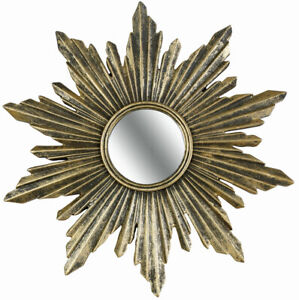 Spiegel Sonne Goldspiegel Wandspiegel Sonne Sonnenspiegel sunburst mirror Barock