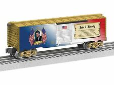 Lionel John F. Kennedy Boxcar # 6-82943 MADE IN USA PRESIDENTIAL BOXCAR