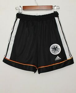 Germany 1998/1999 Player Issue Home Football Shorts Adidas Sz M