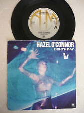 HAZEL O'CONNOR = EIGHTH DAY / MONSTERS IN DISGUISE PIC SLEEVE A&M 1980 EX VINYL
