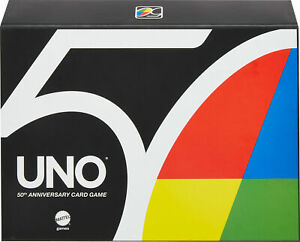 NEW UNO Premium 50th Anniversary Golden Edition Card Game IN HAND SOLD OUT