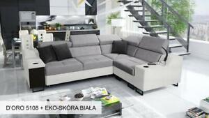 Brand New Corner Sofa Bed With Storage  Alicante II