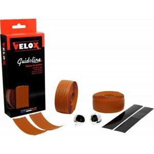 Guidoline Velox marron claire soft perforée  vélo ruban de cintre #1448 Z21