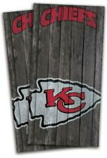Kansas City Chiefs Cornhole Bag Toss Wrap Set
