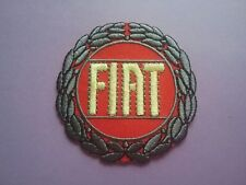 MOTORSPORTS RACING CAR VAN TRUCK SEW ON & IRON ON PATCH:- FIAT (RED DISC)