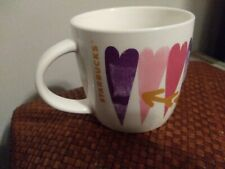 New Starbucks Valentine Hearts Coffee Mug 14 fl oz