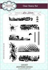 Creative Expressions A5 Clear Stamp Set INSPIRING EDGES CEC851