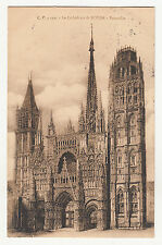 *** La Cathédrale de ROUEN - Ensemble *** 1911 - CPA 1724