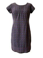 Boden Cord Dress Tunic Size 10 Petite Corduroy Short Sleeve