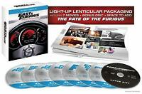 Fast and Furious: Ultimate Ride Collection (Blu-ray Disc, 2017, 8-Disc Set) NEW
