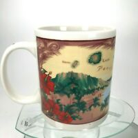 The Sandwich Islands Mug Hawaii Island Chain Maui Pacific Souvenir Tea Cup C27