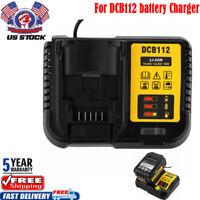 DCB112 Battery Charger For DEWALT 12 VOLT-20V MAX DCB101 DCB115 DCB205 DCB200 2A