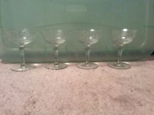 Vintage Crystal Compotes / Dessert Dishes Beautiful