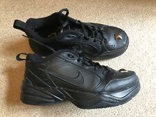 Nike Black Monarch Custom Stud Toe Trainers Sneakers Unisex Shoes 40 / 6