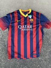 NWT Nike Barcelona Jersey Messi #10 2013/14 Home 53282 XL
