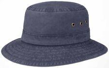 Stetson Sun Guard Summer Bucket Hat Hats Fishing Fischer Sunhat Reston Blue