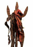 Art African - Antique Iron Ritual Altar Fon Eshu Shango - On Base - 52 CMS