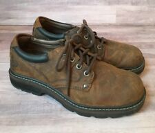 6fbd2062de1 Skechers 62932 Tom Cats Brown Leather Casual Lace Up Oxfords Men s US ...