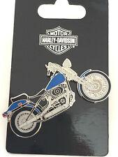 Harley DAVIDSON pin springer softail NEUF + OVP Chopper Biker Blouson sportster v rod