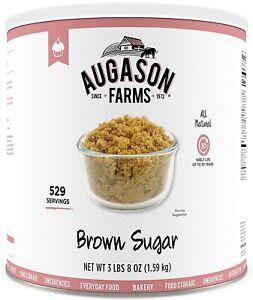 Augason Farms BROWN SUGAR #10 Can Long Term Emergency Survival MRE Prepper Food