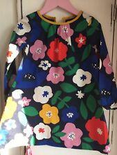 Girls Flower Mini Boden Dress 3-4 Years