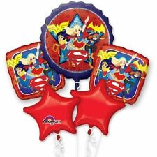 DC Super Hero Girls Balloon Bouquet Birthday Party Decoration SuperGirl (5pc)